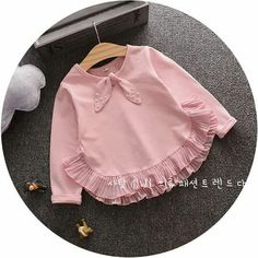 Ideas for baby dress pink girl outfits Baby Dress Design, Baby Girl Dress Patterns, Little Girl Dresses, Girls Dresses, Dress Girl, Baby Girl Fashion, Kids Fashion, Toddler Outfits, Kids Outfits