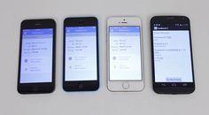 Geekbench Test: iPhone 5s vs iPhone 5c vs iPhone 5 vs Moto X [video]