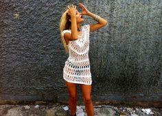 Rat and Boa: Hairpin Crochet Dress… Rat And Boa, Loom Crochet, Boho Style, My Style, Boho Gypsy, Summer Wardrobe, Crochet Clothes, Jumpers, Dress Me Up