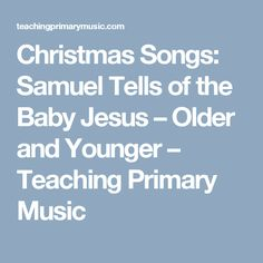i heart primary music: Christmas | Music | Pinterest | Search ...