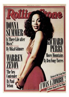 Donna Summer, Rolling Stone no. 261, March 1978
