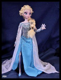 Elsa doll after