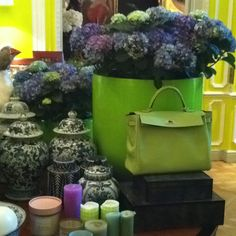 Love green! Planter Pots, Decor Ideas, My Style, Colors, Green, Inspiration, Fashion, Biblical Inspiration, Moda