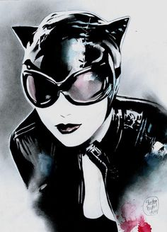 Catwoman, in Shelton Bryant's Catwoman Comic Art Gallery Room Catwoman Cosplay, Cosplay Gatúbela, Batman Und Catwoman, Batgirl, Cosplay Ideas, Cosplay Costumes, Dc Comics Art, Comics Girls, Marvel Comics