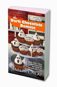 MysteryLoversKitchen.com Welcome guest author @JennMcKinlay who has a new Cupcake Baker Mystery out soon. DARK CHOCOLATE DEMISE