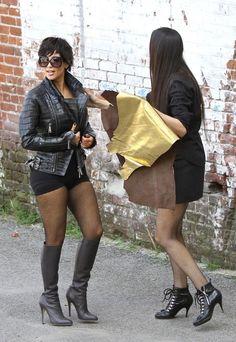 Bauer-Griffin is The Hollywood Hunt Club. Latest Gossip, Hunt Club, Kim Kardashian, Leather Skirt, Hollywood, Boots, Skirts, Magazine, Fashion