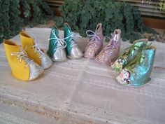 Doll shoes handmade Only 1 available