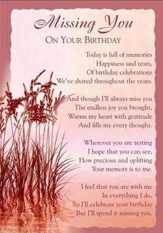 Birthday - missing