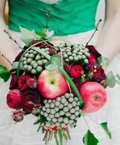 Apples for a late summer/ early fall wedding
