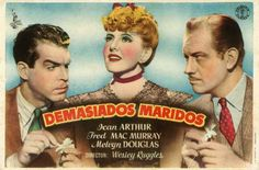"Demasiados maridos (1940) ""Too Many Husbands"" de Wesley Ruggles - tt0033174"