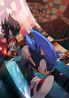 I love this artstyle. Reminds me of the good old days with Sonic Adventure 2 :)