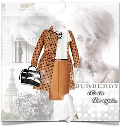 """""""Burberry III: In your eyes"""" by hatsgaloore ❤ liked on Polyvore"""