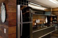 cozinha e a madeira