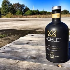 #Noble# new Noble elite gin# no nonsense premium gin# race your standards