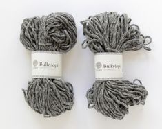 Bulkylopi yarn is a super bulky (hence the name) yarn made from 100% Icelandic wool that knits up quick!