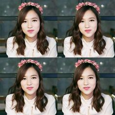 ONCES! ✧For more of our gorgeous TWICE girlies, check out my Pinterest for more: melodyyrosette