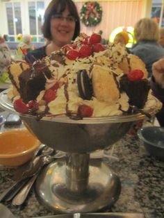 Homemade how to make an everything but the kitchen sink sundae just kitchen sink sundae at wdw im gonna take that bad boy down workwithnaturefo