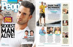 Shark Tank People Magazine Article featuring our Founder & CEO, Stephan Aarstol. People Magazine, Shark Tank Success, Magazine Spreads, Magazine Articles, Man Alive, Hemsworth, Magazine Design, Sexy Men, Entrepreneur