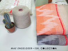 Mae Engelgeer ISH collectie, made in TextielLab