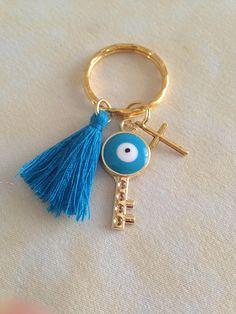 10 Martyrika Key chain-Pins-Baptism Favors-Wedding Favors-Bridal Favors-Baby Shower Favors-Martirika Greek Baptism