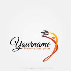 Online Free Logo Maker – Dancer logo design