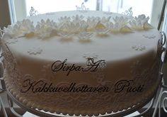 Kakkuvelhottaren Puoti Cake, Desserts, Food, Tailgate Desserts, Deserts, Mudpie, Meals, Dessert, Yemek