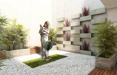 aménagement de petit jardin decoration zen