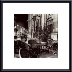 'Cafe, Avignon' by Alan Blaustein Framed Photographic Print