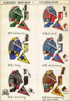 .FG MiniZ Forgotten & Glorious Company of Art: 1806-1807 Prussian Army Uniformological Plates