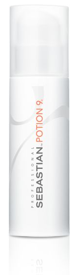 Sebastian Potion 9, magic.in a bottle.wearable leave in treatment for the hair.can put your other products right over it. this product works wonders for dry damaged hair.everyone should use it! (especially all you blondies out there!)