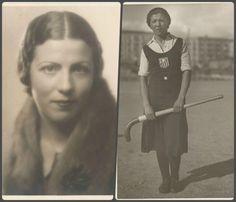 Practicaba hockey (como jugadora y capitana del Atlético de Madrid), natación, esquí y atletismo (lanzamiento de disco). Fue campeona de España de esquí en competición oficial (1936). Su hermana Lucinda también practicó atletismo de forma profesional. Margot junto a Ernestina Maenza fueron las primeras españolas en participar en los Juegos Olímpicos de Invierno de Garmisch-Partenkirche en 1936. Hockey, Che Guevara, Shape, Discus Throw, Silver Age, Winter Olympics, Champs, Athlete, Writers
