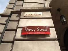 Travel With MWT The Wolf: World Famous Streets Nowt Swiat Warsaw  Poland