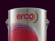 Erco / Ece Boya A.Ş. Paint Packaging Designs