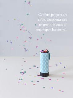 Confetti Popper #BHLDN #Bridal Shower #confetti