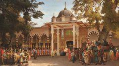 """Sarayda iftar olmadan 10 dakika önce... Osmanlı sarayında """"harem"""" denildiğinde çoğunlukla aklımıza Batılı seyyahların afakî anlatıları ve ressamların hayalî tabloları geliyor. Oysa harem, Padişah'ın eviydi. Peki haremde Ramazan nasıl yaşanıyordu? İşte 5 sene haremde yaşayan bir saraylının kaleminden Ramazan günleri…"""