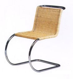 Mies Van der Rohe Furniture: Barcelona chair, daybed