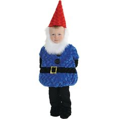 Gnome Halloween Costume for Toddler