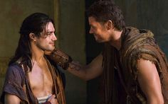 Agron And Nasir Pana Hema Taylor Nagron Spartacus Vengeance Pana