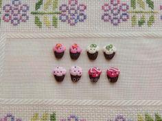 Cupcake - botões