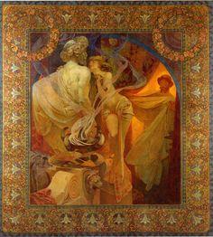 Quo Vadis by Alphonse Mucha, 1902