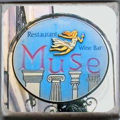 Muse restaurant and Wine Bar, Charleston, South Carolina Marble Coster. http://yhst-128736562315201.stores.yahoo.net/mureandwibar.html