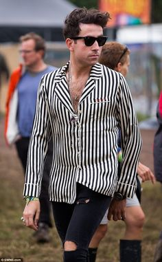 Nick Grimshaw's festival style at Glastonbury