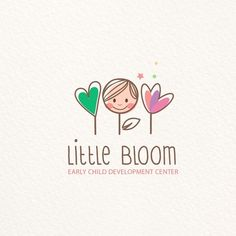 Logo made for a Preschool with children 6 weeks to 6 years old.