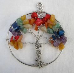 Tree of Life Pendant by atouchofglasspendant on Etsy, $12.00