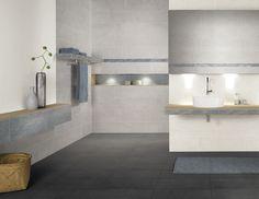 Fliese für Badezimmer / für Innenbereich / Boden / aus Keramik - PASADO - AGROB BUCHTAL