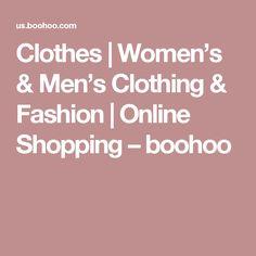 Clothes | Women's & Men's Clothing & Fashion | Online Shopping – boohoo