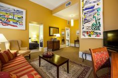 Different art in every room. Dare to be different. http://www.lhotelmontreal.com/default-en.html
