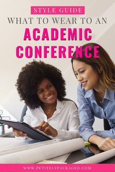Whether it is one day or one week long, navigating an academics conference can be exciting, overwhelming, and stressful. Knowing what to pack and what to wear for an academic conference can make all the difference when it comes to your mood. If you want to feel comfortable, confident, and in place during your next academic conference, this style guide with help you rock it no matter you body type.