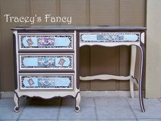 Alice  Custom Desk MADE TO ORDER by TraceysFancy on Etsy, $800.00