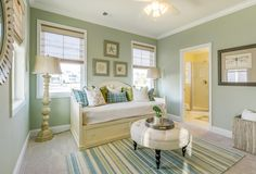 Like a breath of fresh sea air, The Sanibel at Bayside in Selbyville, Delaware is a recently completed model home by color-savvy Echelon Interiors. If you haven't figured it out by now, I&#82…